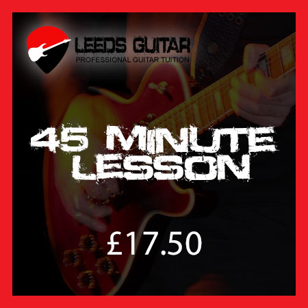45 Minute Guitar Lesson