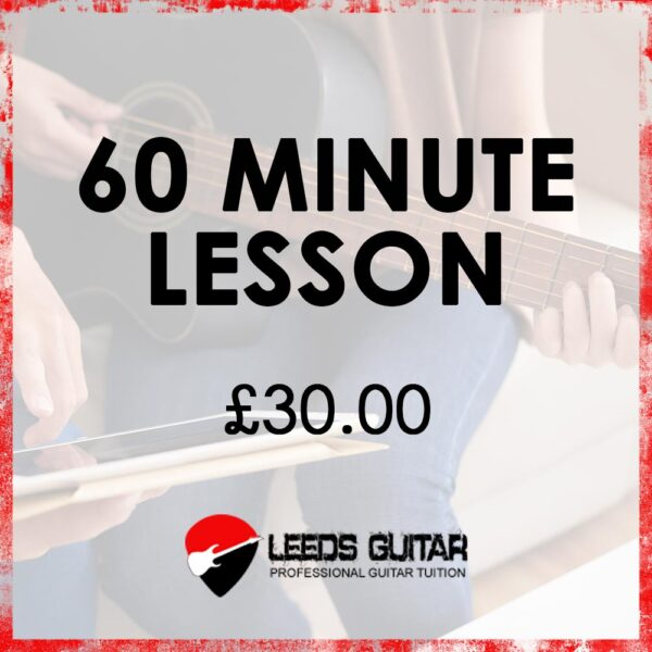 60 minute guitar lesson